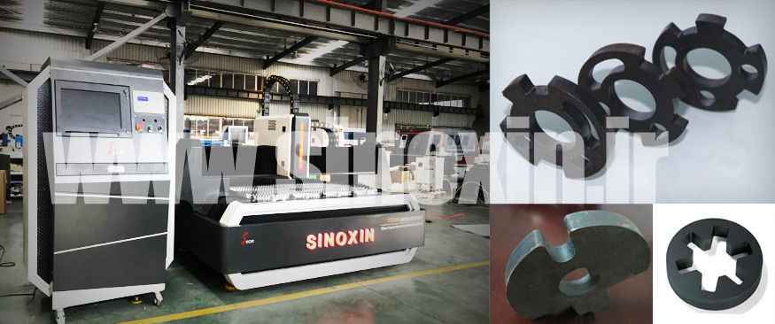 fiber laser sample and machine picture